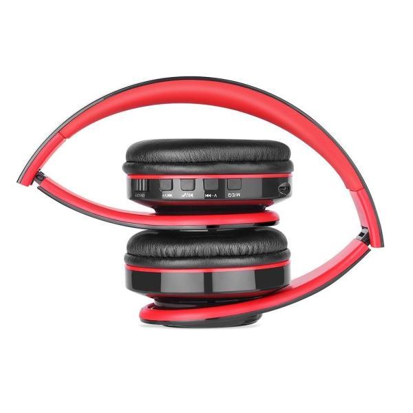 Bluetoothヘッドフォン、NewpowerプロフェッショナルワイヤレスV4.2折り畳み式オーバーイヤーHi-Fiステレオヘッドセット、