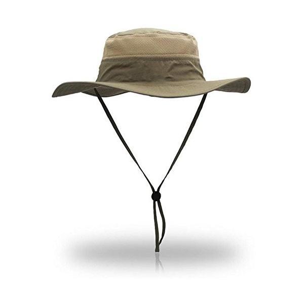 (ムコ) MUCO UVカット サファリハット ユニセックス つば広 大きいサイズ アウトドア 無地 日焼け防止 レディース メンズ dar