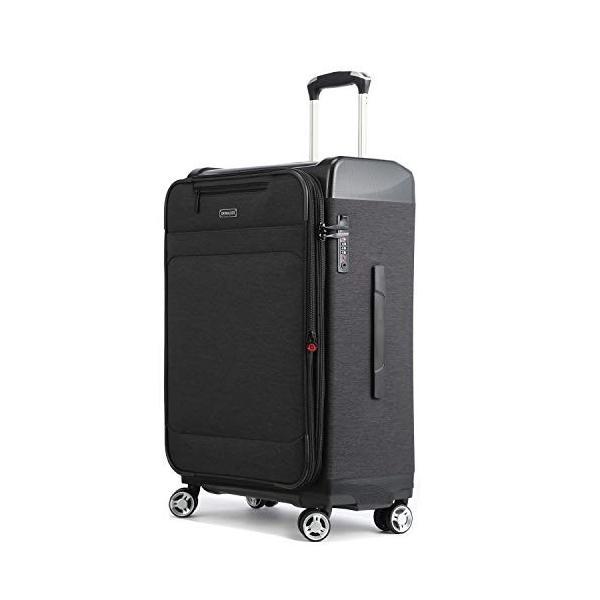 Uniwalker 防水加工 スーツケース 容量拡張可能 超軽量 キャリーバッグ 旅行 出張 キャリーケース TSAロック 丈夫 静音 S型 shopnoa 02
