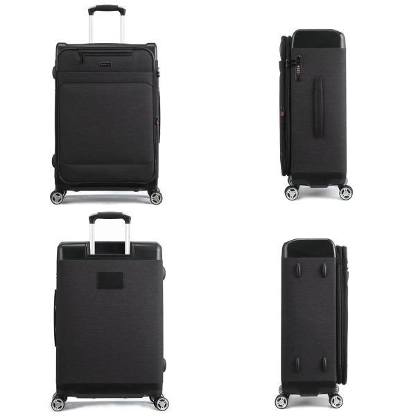 Uniwalker 防水加工 スーツケース 容量拡張可能 超軽量 キャリーバッグ 旅行 出張 キャリーケース TSAロック 丈夫 静音 S型 shopnoa 10