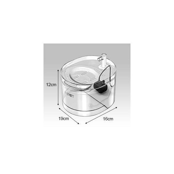 2019年最新型 NPET ペット自動給水器 WF030 猫 犬 水飲み器 循環式 超静音 活性炭フィルター 安全材質 簡単掃除 お留守番対|shopnoa|03