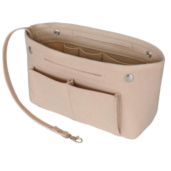 HyFanStr バッグインバッグ フェルトインナーバッグ 軽量 バックインバック レディース 収納バッグ 整理 bag in bag ベー|shopnoa|04