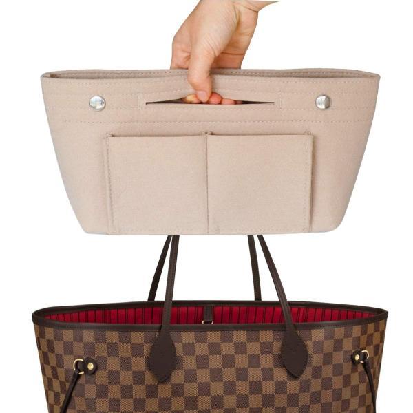 HyFanStr バッグインバッグ フェルトインナーバッグ 軽量 バックインバック レディース 収納バッグ 整理 bag in bag ベー|shopnoa|05