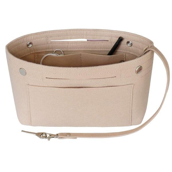 HyFanStr バッグインバッグ フェルトインナーバッグ 軽量 バックインバック レディース 収納バッグ 整理 bag in bag ベー|shopnoa|07