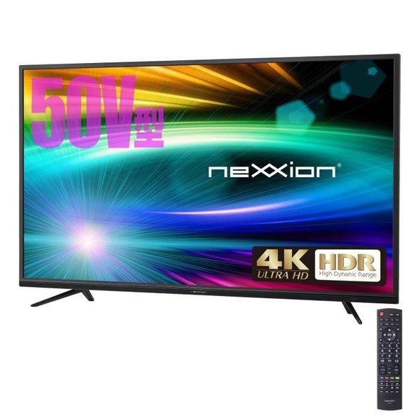 nexxion 50V型 HDR対応4K液晶テレビ