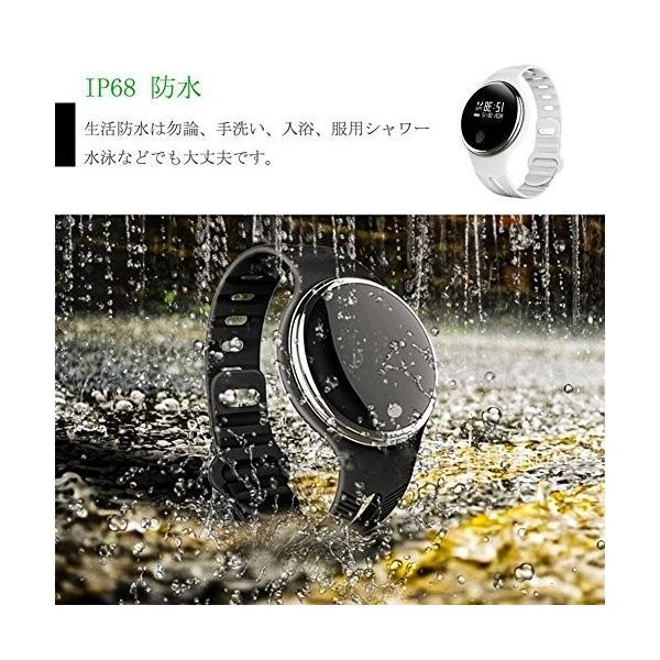 スマートウォッチ E07 丸形デジタル腕時計 日本語対応 ブルートゥース iPhone Android対応 日本語対応|shopping3212|12