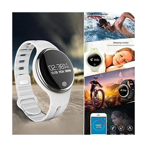 スマートウォッチ E07 丸形デジタル腕時計 日本語対応 ブルートゥース iPhone Android対応 日本語対応|shopping3212|18