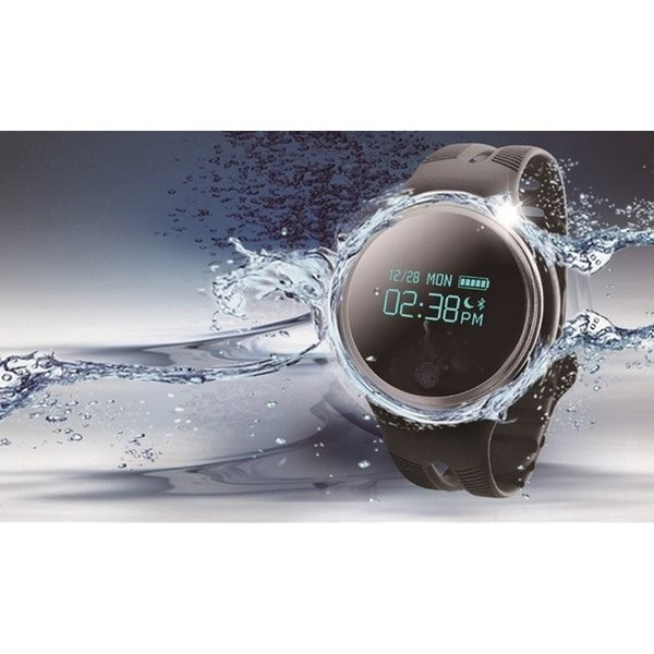 スマートウォッチ E07 丸形デジタル腕時計 日本語対応 ブルートゥース iPhone Android対応 日本語対応|shopping3212|03