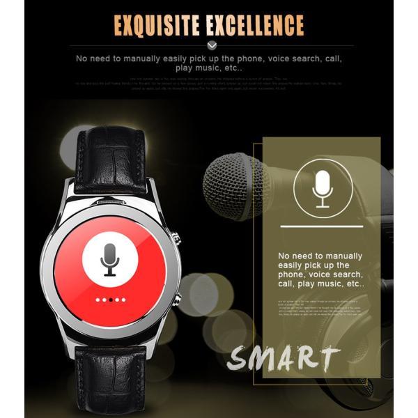 スマートウォッチLW01 Bluetooh4.0 高級皮のバンド 心拍測定/歩数計/遠隔写真撮り/など多機能腕時計 日本語対応|shopping3212|12