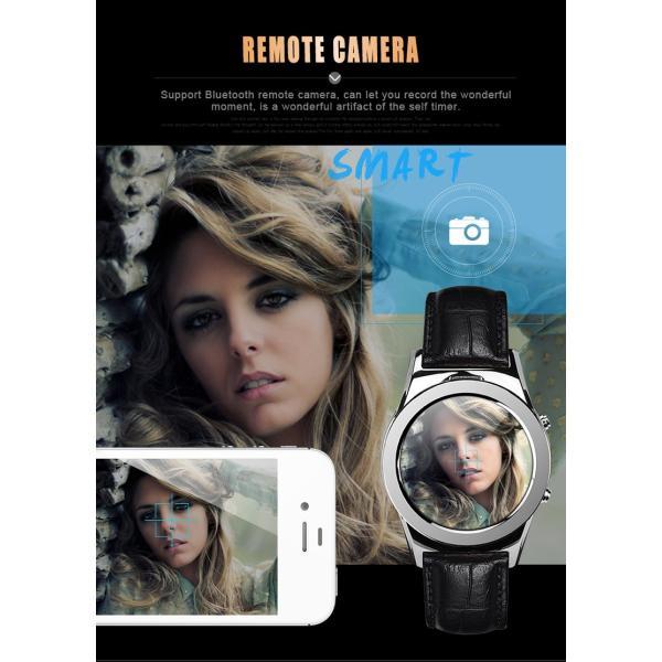 スマートウォッチLW01 Bluetooh4.0 高級皮のバンド 心拍測定/歩数計/遠隔写真撮り/など多機能腕時計 日本語対応|shopping3212|17