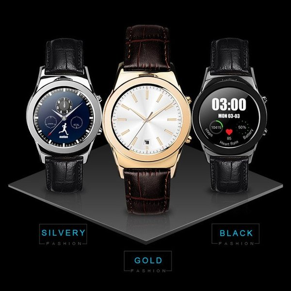 スマートウォッチLW01 Bluetooh4.0 高級皮のバンド 心拍測定/歩数計/遠隔写真撮り/など多機能腕時計 日本語対応|shopping3212|03