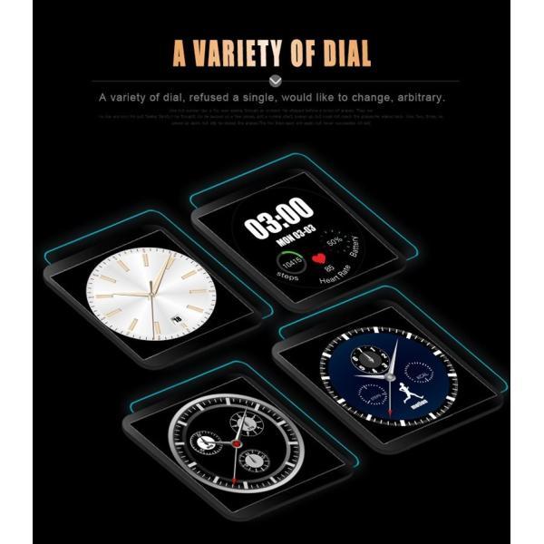 スマートウォッチLW01 Bluetooh4.0 高級皮のバンド 心拍測定/歩数計/遠隔写真撮り/など多機能腕時計 日本語対応|shopping3212|21