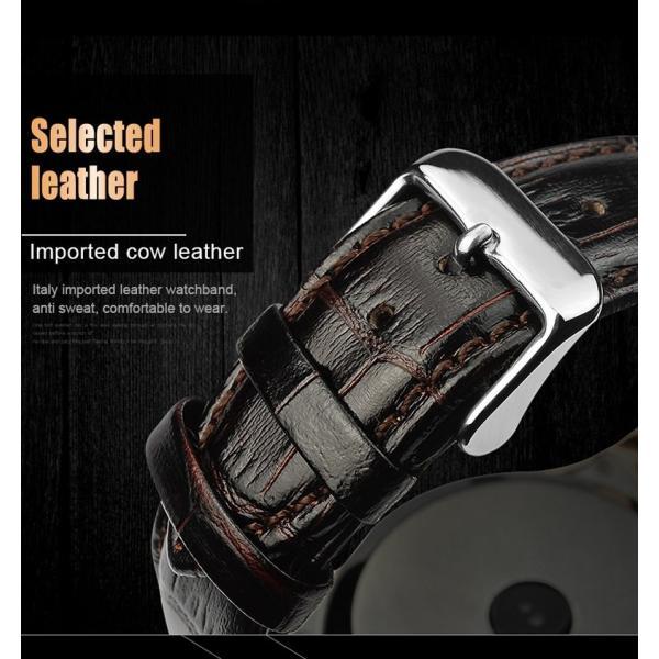 スマートウォッチLW01 Bluetooh4.0 高級皮のバンド 心拍測定/歩数計/遠隔写真撮り/など多機能腕時計 日本語対応|shopping3212|09