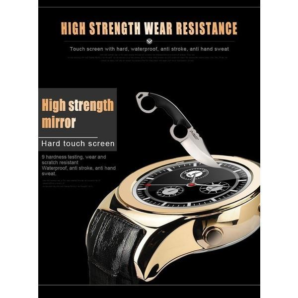 スマートウォッチLW01 Bluetooh4.0 高級皮のバンド 心拍測定/歩数計/遠隔写真撮り/など多機能腕時計 日本語対応|shopping3212|10