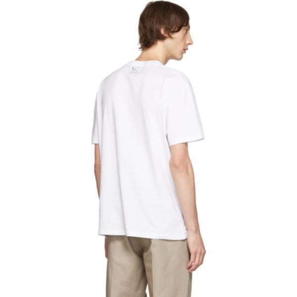 ラフシモンズ raf-simons ホワイト Mother On Phone T シャツ|shopping3212|04