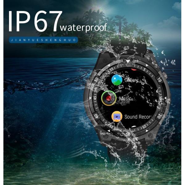 スマートウォッチ X100 MTK6580 Bluetooth アンドロイド 時計 IP67 防水 GPS スマート腕時計サムスンギア S3 レノボ腕時計 9 KW88 QW09 HUAWEI shopping3212