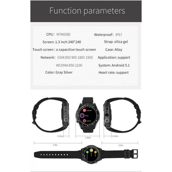 スマートウォッチ X100 MTK6580 Bluetooth アンドロイド 時計 IP67 防水 GPS スマート腕時計サムスンギア S3 レノボ腕時計 9 KW88 QW09 HUAWEI shopping3212 03