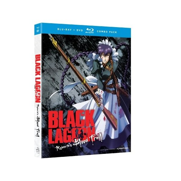 北米版 ブラック・ラグーン:ロベルタの血トレイル[Blu-ray /  Black Lagoon: Roberta's Blood Trail [Blu-ray/DVD Combo]|shopping3212