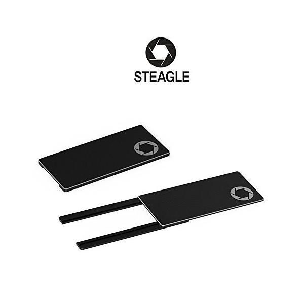 あなたのプライバシーのためのSTEAGLE ORIGINAL ラップトップウェブカメラカバー北米版 STEAGLE ORIGINAL (Black) Laptop Webcam Cover for y|shopping3212