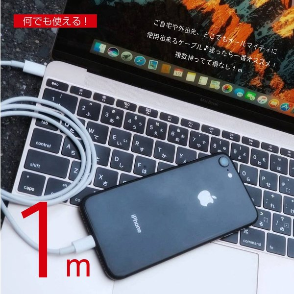 iPhone USB-C ライトニングケーブル MFI PD  ToughLine PowerDelivery 急速充電 Lightning Type-C ケーブル|shops-of-the-town|13