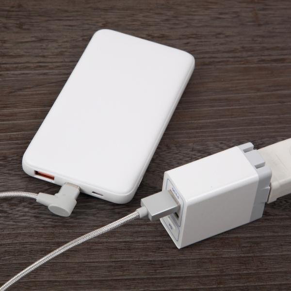 モバイルバッテリー QC3.0 PD3.0 急速充電 10000mAh PSE認証 全ての入力端子に対応 Type-C 3/22発送|shops-of-the-town|03