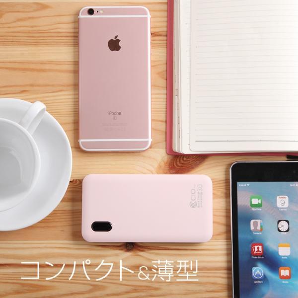 モバイルバッテリー PSE 軽量 大容量 ケーブル内蔵 iPhone Type-C 急速充電 iPhone QualComm QuickCharge3.0 PD充電 10000mAh タイプC|shops-of-the-town|14