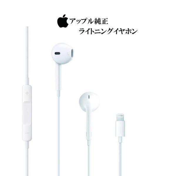 iPhone イヤホン 純正 ライトニングコネクタ対応 未使用品 EarPods with Lightning Connectorの画像