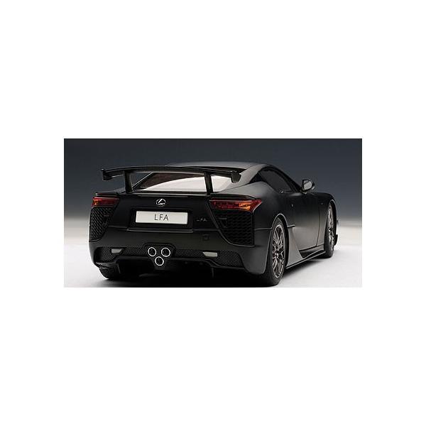 AUTOart☆1/18 レクサス LFAニュルブルクリンク パッケージ (マット・ブラック) 78839|shoptakumi|02