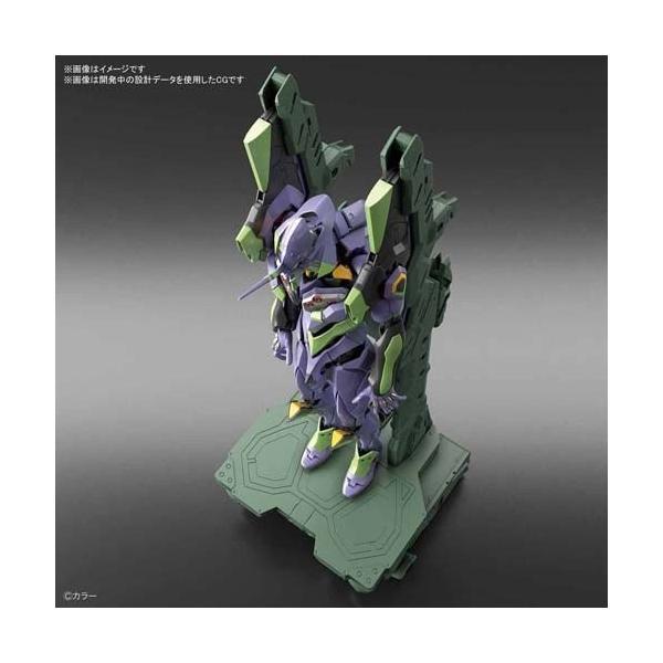 バンダイ RG 汎用ヒト型決戦兵器 人造人間エヴァンゲリオン初号機 DX輸送台セット|shoptakumi|02
