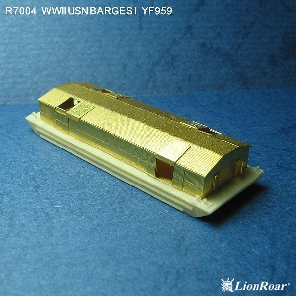1/700 艦船模型用エッチングパーツ WWII 米海軍 艀1 YF390&YF959