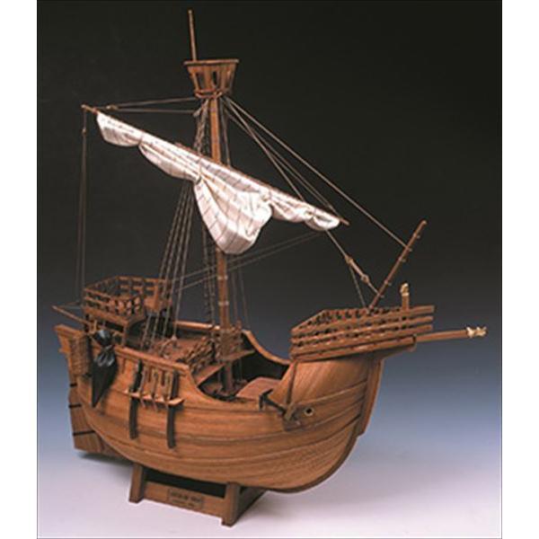ウッディジョー 木製帆船模型 1/30 カタロニア船 組立キット 組立キット