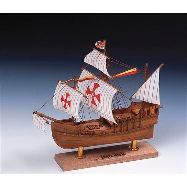 ウッディジョー 木製ミニ帆船 No.2 サンタマリア 組立キット