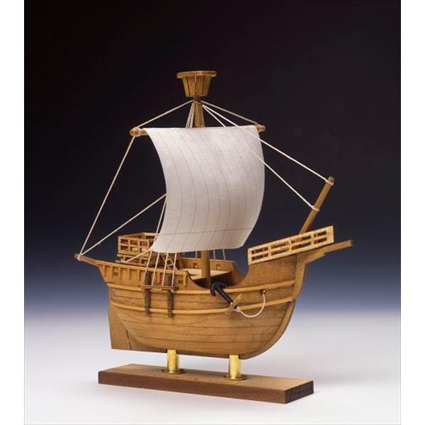 ウッディジョー 木製ミニ帆船 No.4 カタロニア船 組立キット