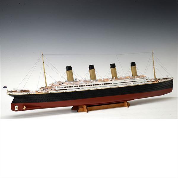 ウッディジョー 木製客船模型 1/350 タイタニック 木製豪華客船組立キット