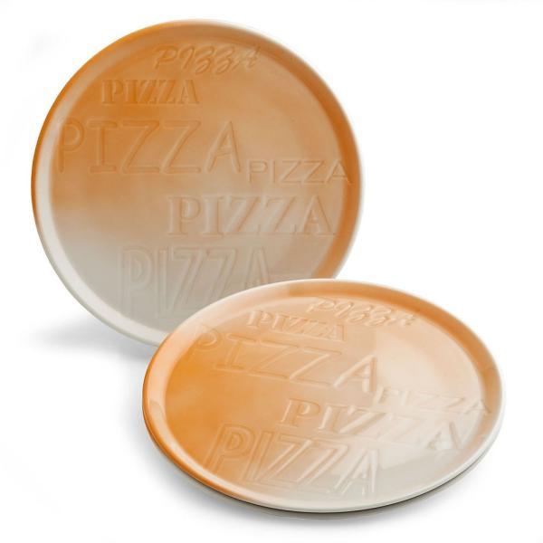 PIZZA ピザプレート/オレンジ|shopv