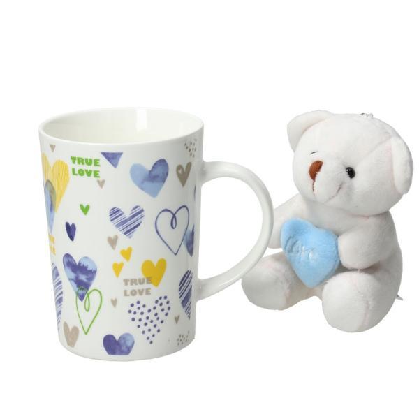 FLIRT マグカップ&ベア/ライトブルー|shopv