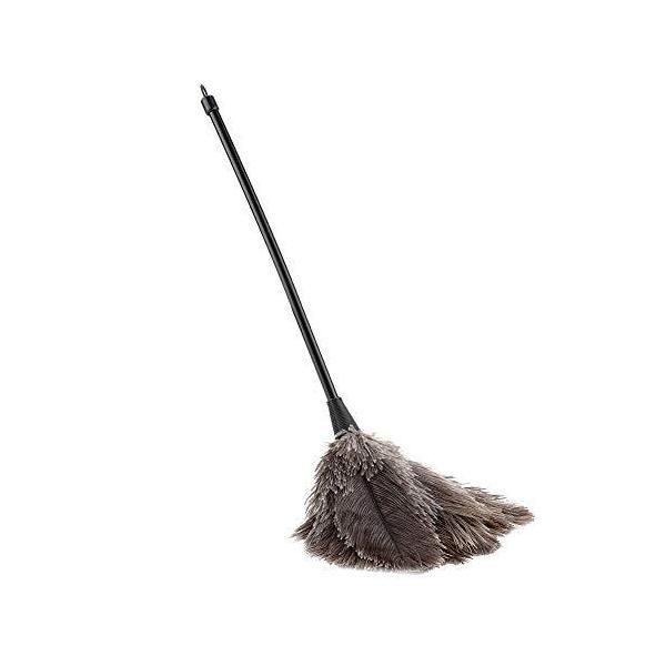 xuuyuu 毛ばたき ほこり取り 柔らかい ダチョウの羽箒 静電気防止 羽根はたき 除塵 家庭用 車用 隙間掃除 清掃用