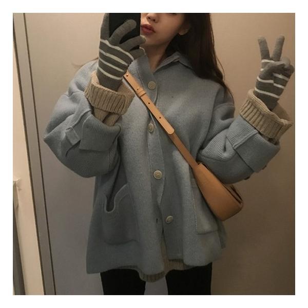 オーバーサイズニットジャケット shopwonder 04