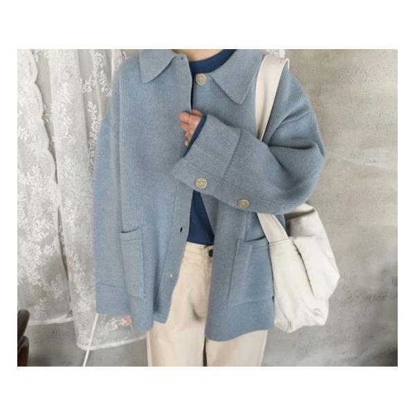 オーバーサイズニットジャケット shopwonder 05