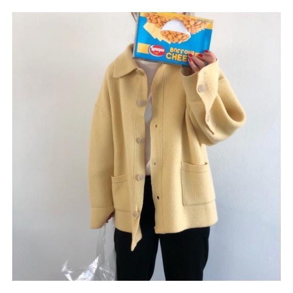 オーバーサイズニットジャケット shopwonder 06