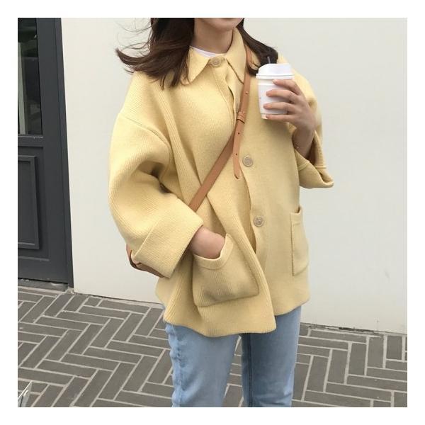 オーバーサイズニットジャケット shopwonder 07