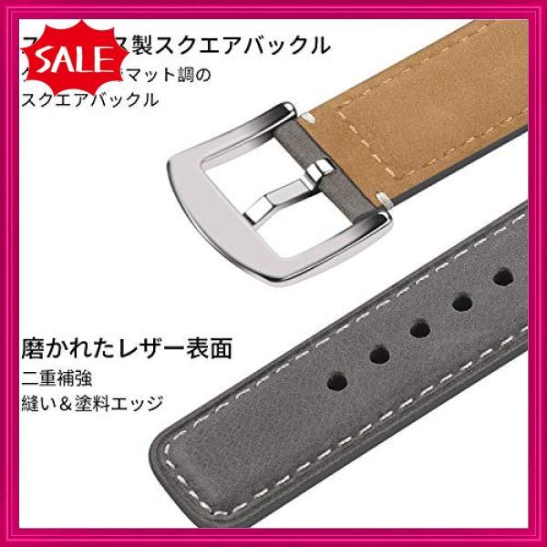 Fullmosa Yola アップルウォッチ バンド レザー 44mm 42mm 40mm 38mm コンパチ apple watch 交換用 本革 アップルウォッチ5 4 3|shopyamamoto|03