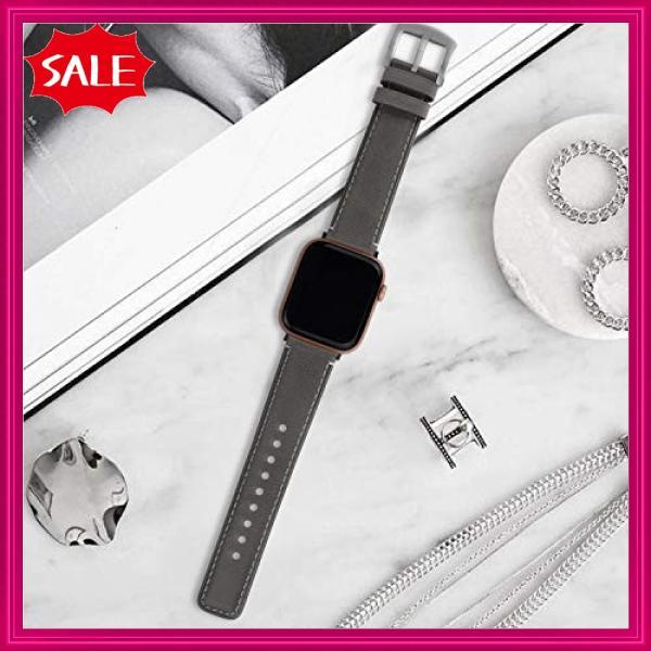Fullmosa Yola アップルウォッチ バンド レザー 44mm 42mm 40mm 38mm コンパチ apple watch 交換用 本革 アップルウォッチ5 4 3|shopyamamoto|05