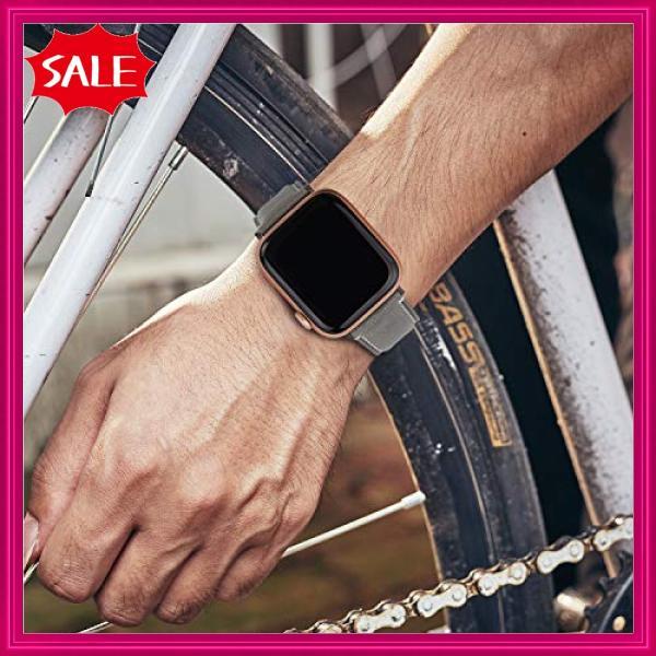 Fullmosa Yola アップルウォッチ バンド レザー 44mm 42mm 40mm 38mm コンパチ apple watch 交換用 本革 アップルウォッチ5 4 3|shopyamamoto|06