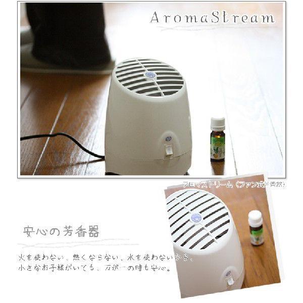 アロマストリーム アロマファン式芳香器 ファン式アロマ芳香器  電気式芳香器 アロマオイル対応|shopyuwn|02