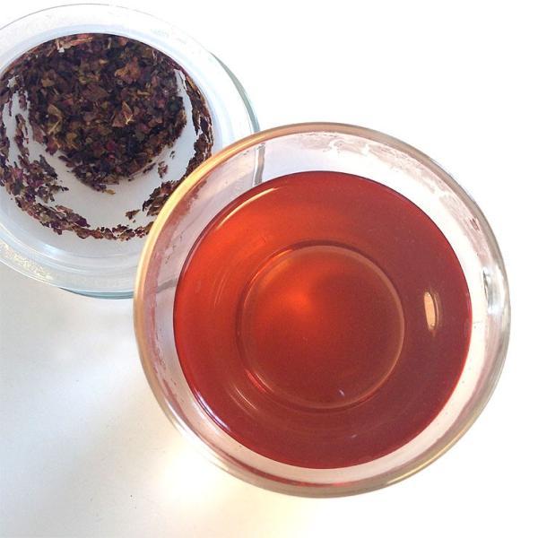レッドワインリーフ(赤ぶどう葉) 50g ハーブティー ブドウ葉茶 赤葡萄葉茶 レッドグレープリーフティー 赤ブドウ葉茶乾燥|shopyuwn|02
