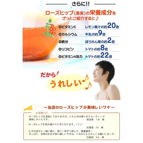 ローズヒップティーファインカット 200g ハーブティー ローズヒップティー 送料無料|shopyuwn|06