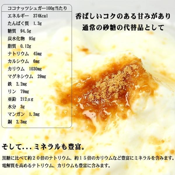 ココナッツシュガー 業務用1Kg 低GI食品ヤシ蜜糖天然糖砂糖の代替品として ゆうメール送料無料|shopyuwn|06