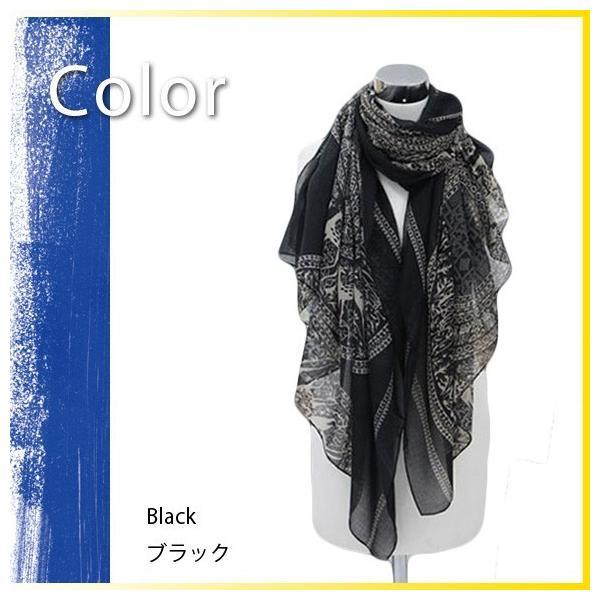 レディース ストール ビスコースストール 大判 スカーフ UV 紫外線 sj2426|shopzero|06