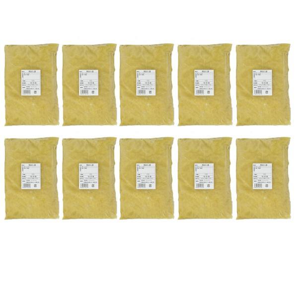 冷凍 おろし生姜 1kg×10 中国産  一次加工品